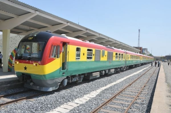 Rehabilitated Takoradi-Tarkwa rail line to be test run