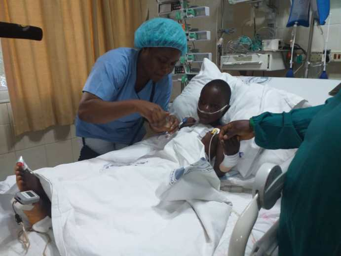 3Foundation supports boy, 5, undergo heart surgery