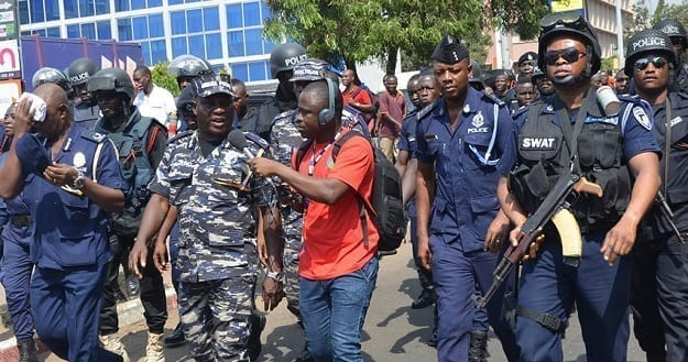 Ghana Police prepares 125 officers for possible terrorist threats