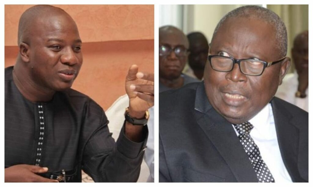 Martin Amidu takes responsibility for defects in Ayariaga's case