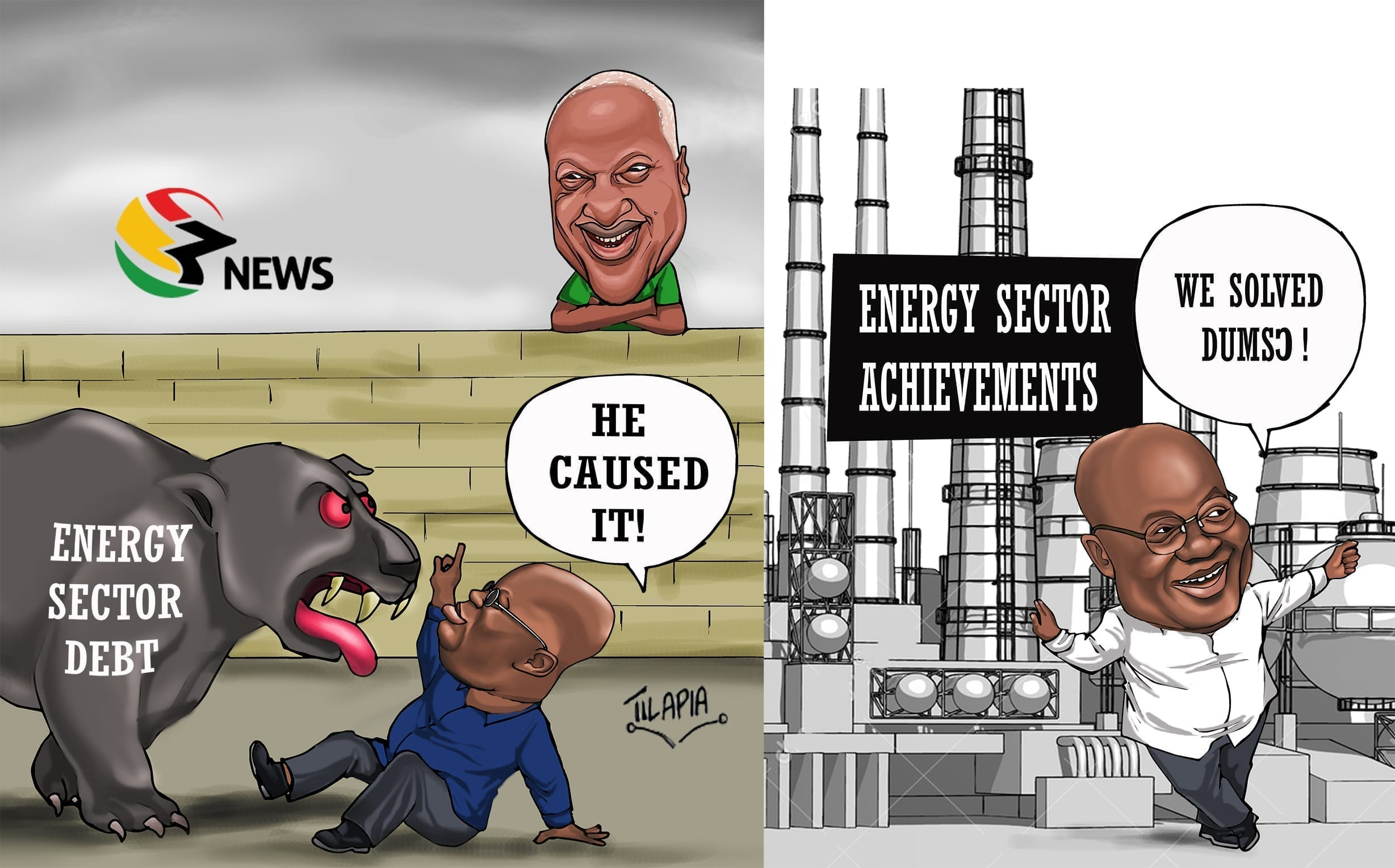 [Cartoon] JM's legacy and Opana's vainglory!