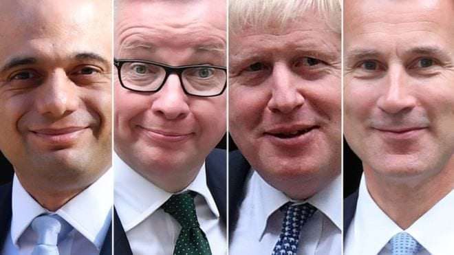 Race for UK Prime Minister goes down to final two
