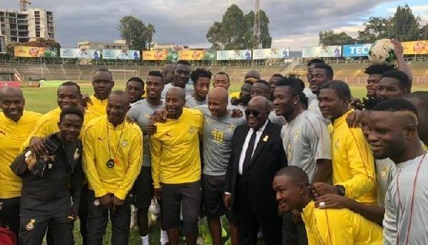 Watch how Sam George likened Akufo-Addo's men to Black Stars players