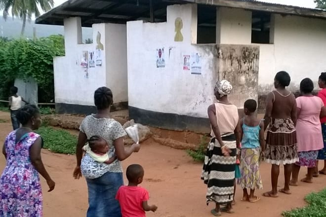 Madina residents lament high toilet charges