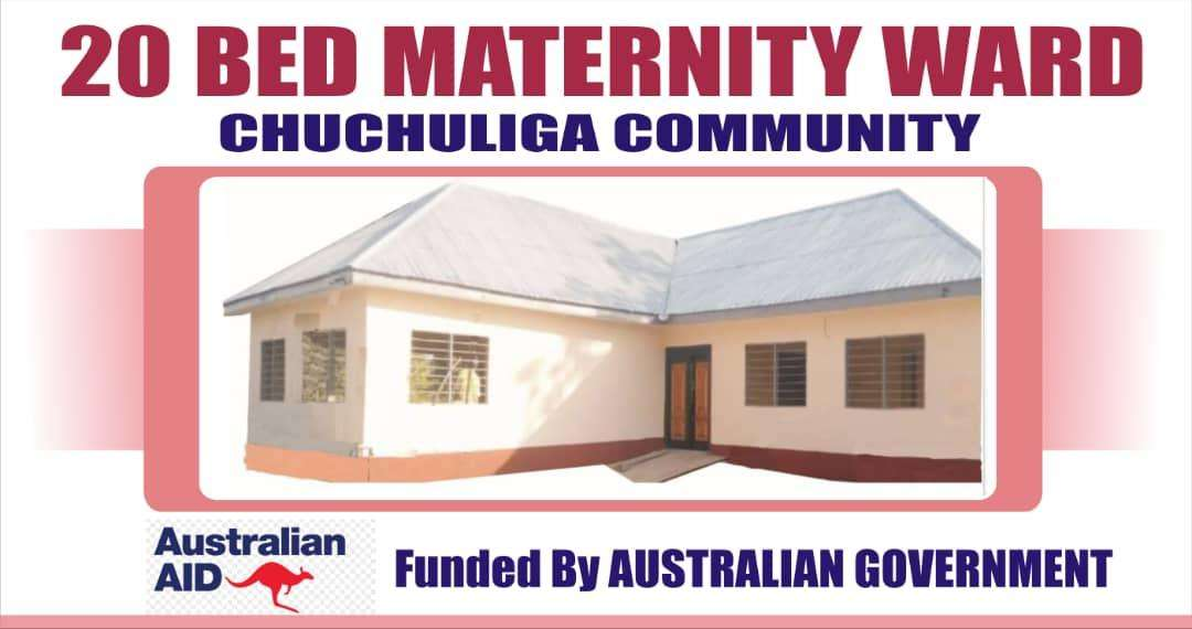 Australian High Commission commissions 20-bed maternity ward for Chuchulga community