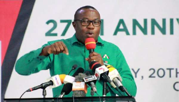 National Chairman of the National Democratic Congress (NDC) is Samuel Ofosu Ampofo