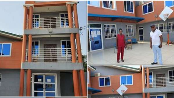 The facility released by Bishop Gideon Titi-Ofei