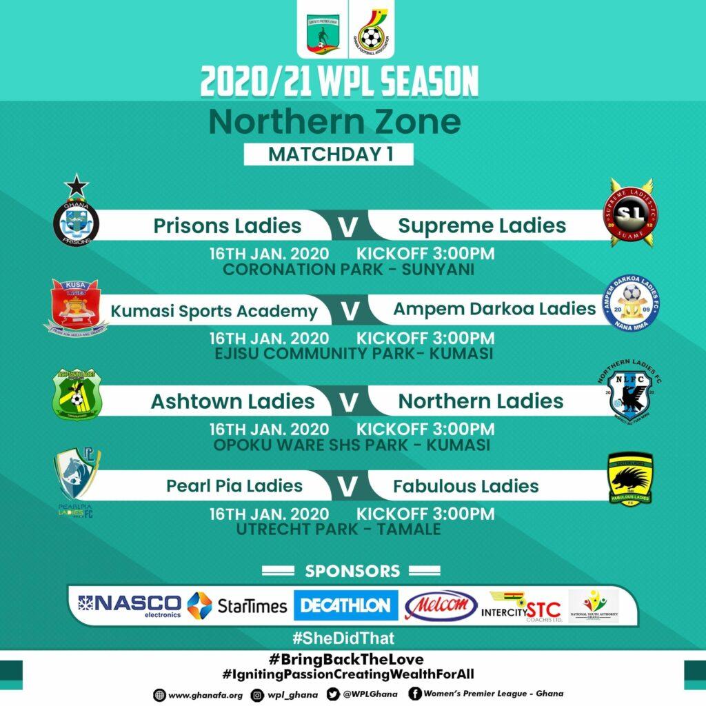 Ghana women's premier league: 2021 season resumes this weekend after 9 months week