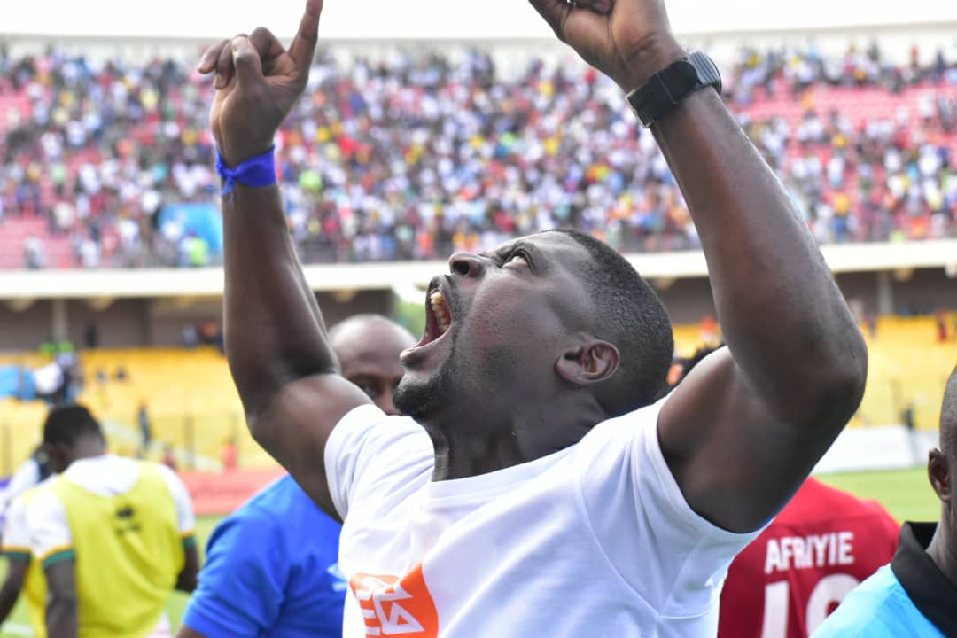Samuel Boadu named GPL coach of the month for May   3news