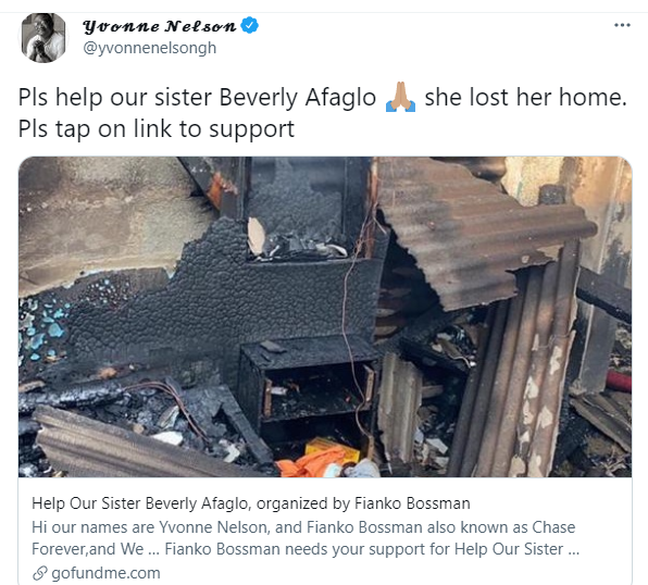 We won't pay; Where are her rich father's properties? – Ghanaians lambast Beverly Afaglo's Go-Fund-Me